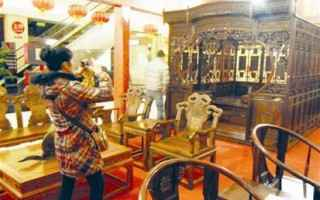 武汉惊现5180万一套红木家具