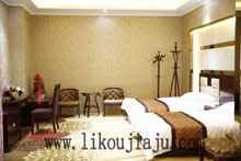 厂家直销 酒店宾馆床 标准间单人床 双人床板式床
