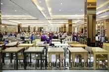 厂家直销 快餐桌椅 饭店餐桌 火锅桌