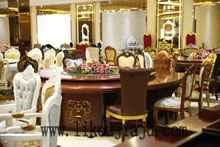 厂家供应 酒店圆桌 电动圆桌 配套餐椅