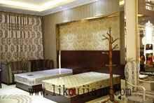 自产自销 客房床 标准间床 宾馆客房家具 可定制