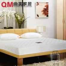 曲美家具 椰棕软硬两用弹簧床垫 棕垫 席梦思 1.8米双人床垫