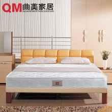 曲美家具家居 双人床垫 静音弹簧 环保舒适 床垫