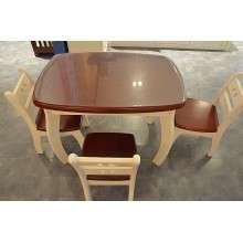 【合和木缘】小方桌地中海儿童家具纯实木GY-D1550