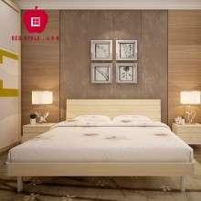 经典红苹果家具 家私 床 1.5/1.8米排骨架 板式床 双人床R801-23