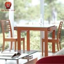 经典红苹果家具 简约现代 餐厅板木电脑椅餐椅 椅子*2把 R/D400