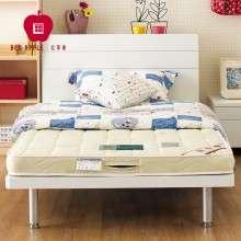 红苹果家具 简约1.2/1.5米排骨架板式青少年双人床E801-23