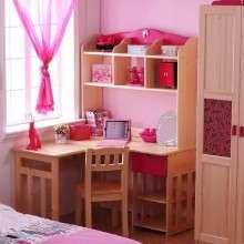 多喜爱儿童家具 儿童实木书桌 1.2米直角学习桌