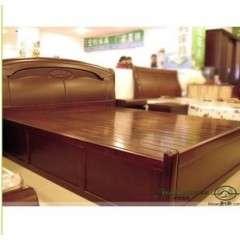 特价橡木床类实木床储物床1.8米1.5单人双人床苏州家具高箱升降