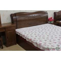 全实木 榆木床 储物床 双人床 1.8米中式升降 高箱床特价款包物流