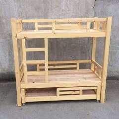 儿童实木床三层 学生双层上下铺幼儿高低床可批发定做