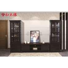 【合和木缘】美式家具工厂直销电视柜组合GY211-3012