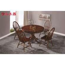 【合和木缘】美式家具工厂直销GY211-5025圆桌