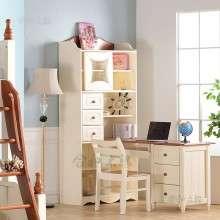 【合和木缘】地中海全松木家具书桌柜GY-SG605