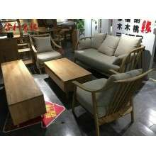 白橡木系列木蜡油高端环保家具沙发电视柜茶几GY-BX01