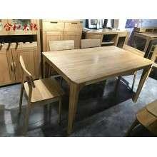 白橡木系列木蜡油工艺高端环保餐桌GY-BX02