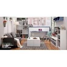隐形床折叠床墨菲床翻板床多功能壁柜床儿童床双层床创意家居