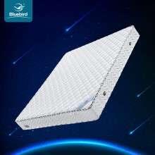 蓝鸟 床垫席梦思精钢弹簧20cm透气软硬舒适1.8双人床垫1米5