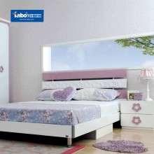 雅宝儿童套房 成套儿童房家具 女孩粉色卧室套装 青少年组合家具
