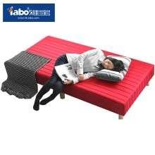 雅宝家具 简易一体实木床单人床双人床榻榻米 成人床 1.2 1.5 米