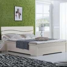 雅宝家具 现代简约板式双人床 液压高箱储物床 1.5米1.8m低箱床