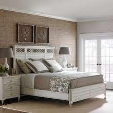 乐家巢家具 原装进口白色美式全实木大床橡木双人床简约田园床