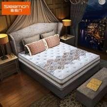 喜临门针织面料床垫 天然黄麻亲肤海绵席梦思1.5 1.8米 速睡