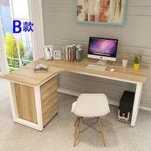 双人职员办公桌L型电脑桌椅转角简约屏风卡座2-4-6四人组合工作位ZL002