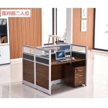 双人职员办公桌多人电脑桌椅组合简约现代2-4四人工作位屏风卡座ZP005
