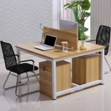 职员办公桌简约现代四人位办公桌椅组合2-4-6多人工作位屏风卡座Z1007