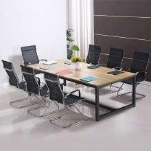 环宜会议桌长桌简易工作台员工桌子培训洽谈桌简约现代职员办公桌HY003