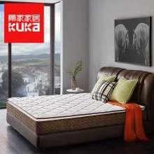 顾家家居 1号垫舒睡版乳胶床垫独立弹簧席梦思床垫1.8米M0268