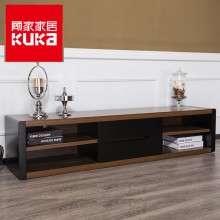 顾家家居 电视柜现代简约置物储物柜胡桃木纹客厅家具PT1528GF