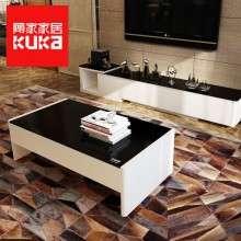 顾家家居茶几电视柜组合套装现代简约大小户型客厅成套家具1527