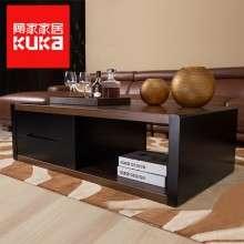 顾家家居茶几桌现代简约木纹置物几小桌子客厅创意家具PT1528TD