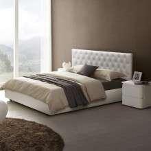 顾家家居真皮床1.8米双人婚床现代简约卧室家具经济型欧式软床