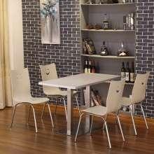 肯德基桌椅 快餐店 汉堡店 饭店食堂 餐桌小吃店 快餐桌椅组合 厂家批发