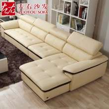 左右简约现代头层牛皮真皮沙发组合客厅整装大户型皮沙发DZY2826