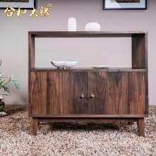【合和木缘】北美黑胡桃木蜡油蠡口黑胡桃GY-hJ65餐边柜