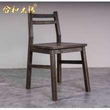 【合和木缘】北美黑胡桃木蜡油蠡口黑胡桃GY-hM61餐椅