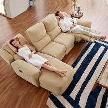 芝华仕头等舱 功能沙发 布艺沙发  欧式大小户型客厅沙发8891布