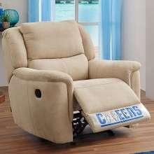 芝华仕头等舱 功能沙发 单人沙发布艺 小户型沙发美式沙发椅 K577