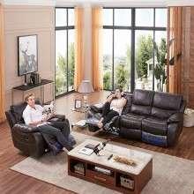 芝华仕头等舱 功能沙发 美式沙发真皮 小户型客厅沙发组合8753