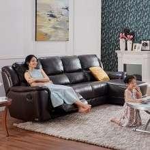芝华仕头等舱 功能沙发 真皮沙发 现代简约大小户型沙发组合 8891