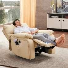 芝华仕头等舱真皮功能沙发 单人沙发 电动美式沙发小户型831B