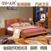 【合和木缘】黄金海棠木纯实木家具卧室GY-A611