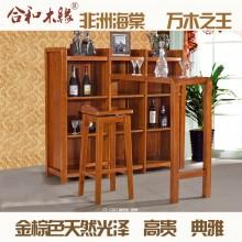 【合和木缘】黄金海棠木客厅吧台GY-C507