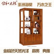 【合和木缘】黄金海棠木纯实木家具玄关间厅柜GY-C509