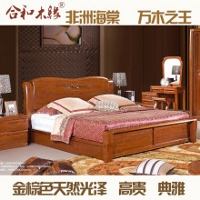 【合和木缘】黄金海棠木纯实木家具卧室GY-A619