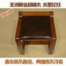 【合和木缘】黄金胡桃木 梳妆台 梳妆凳 工厂直销